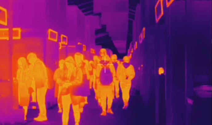 红外体温监控