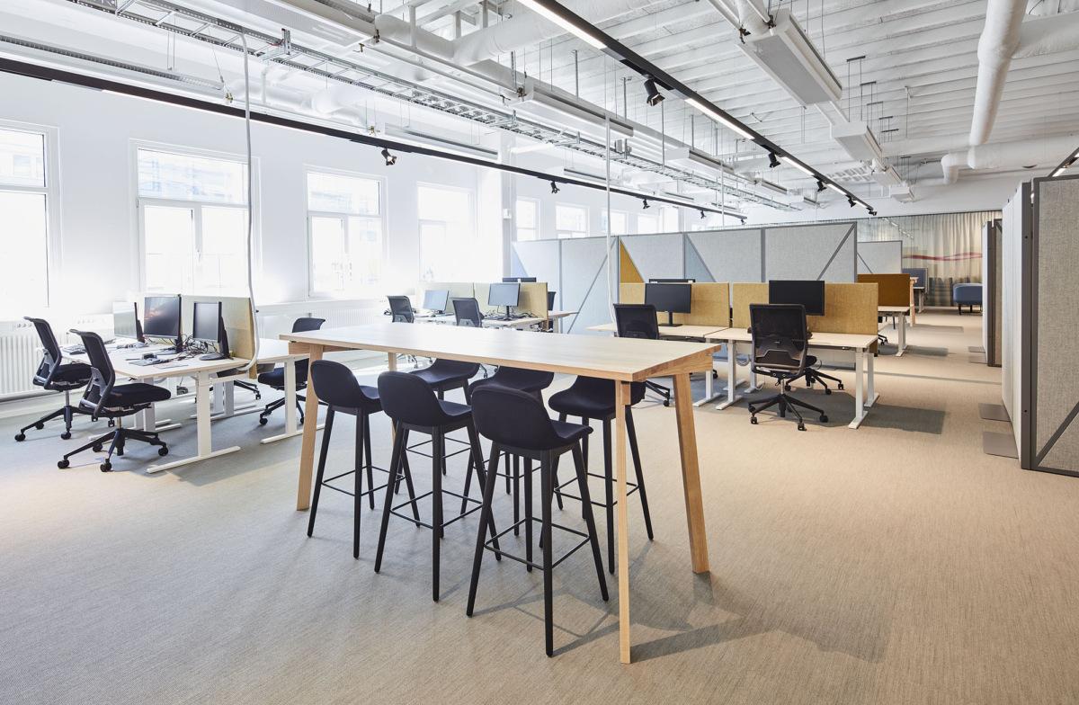 办公空间开放办公区规划设计