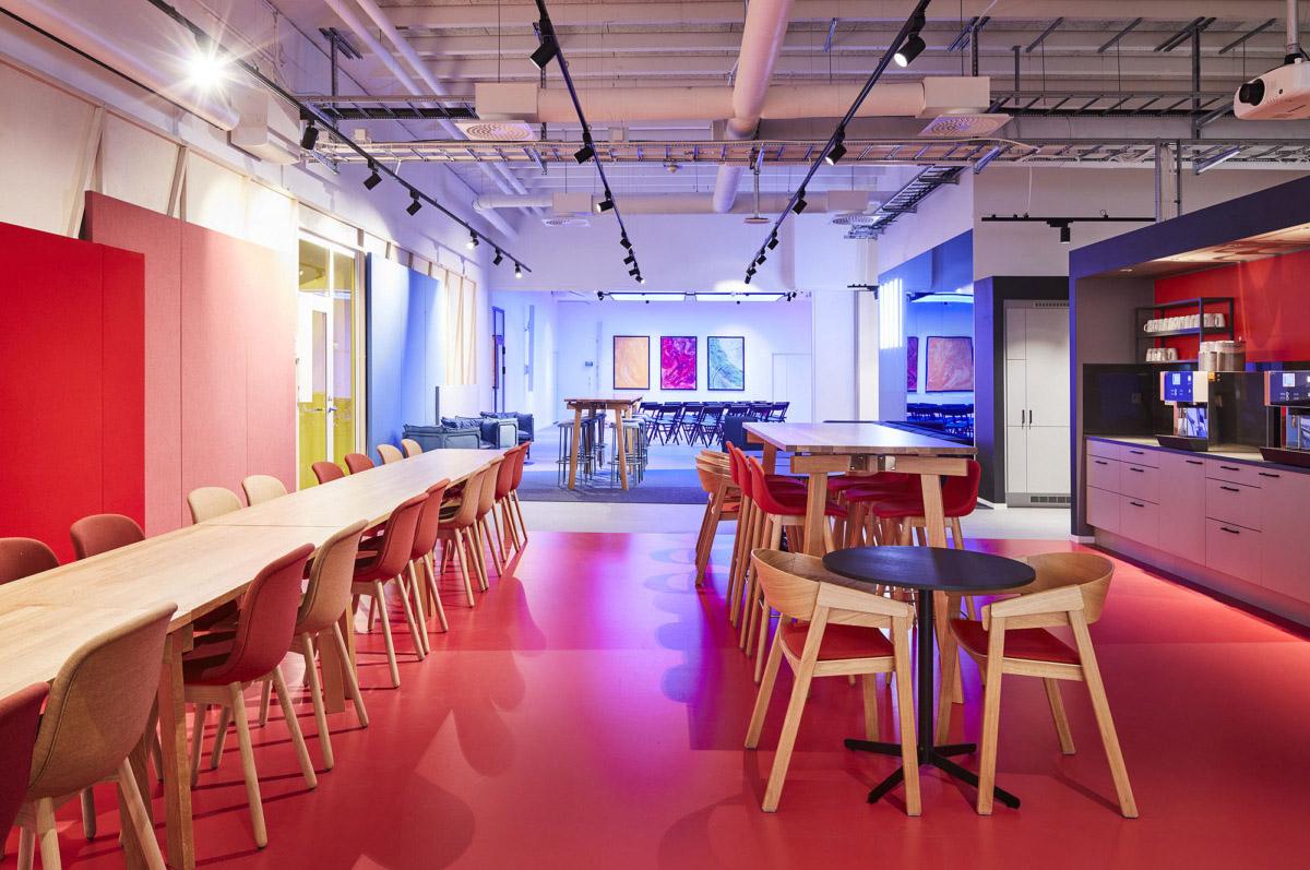 办公空间茶水休闲区规划设计