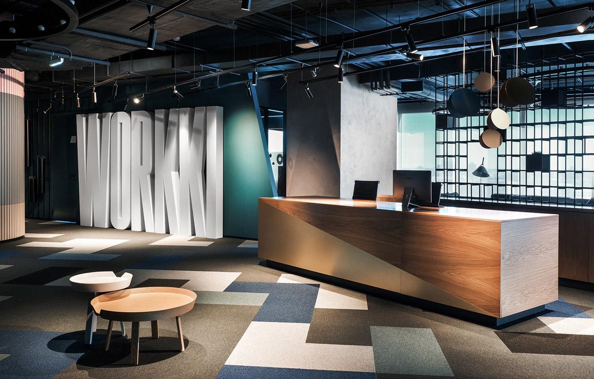 【工业风】设计办公空间