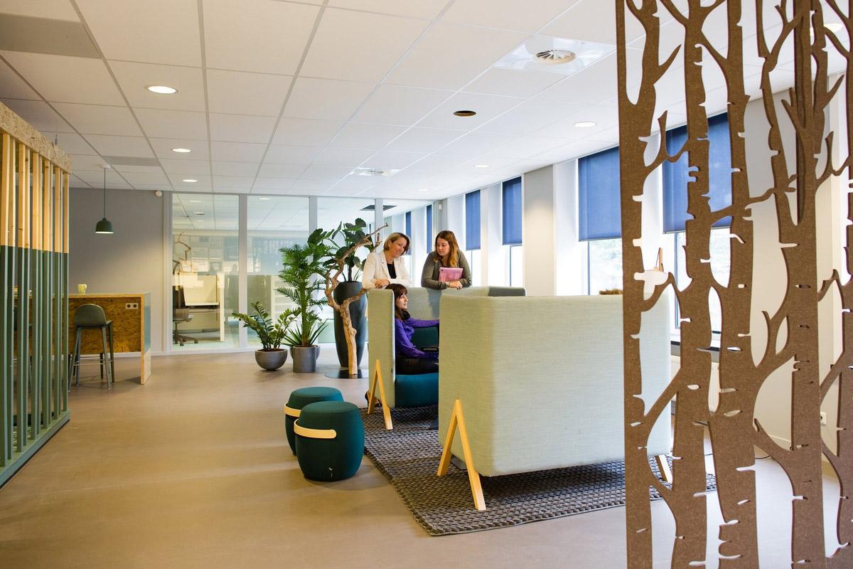 开放办公空间设计