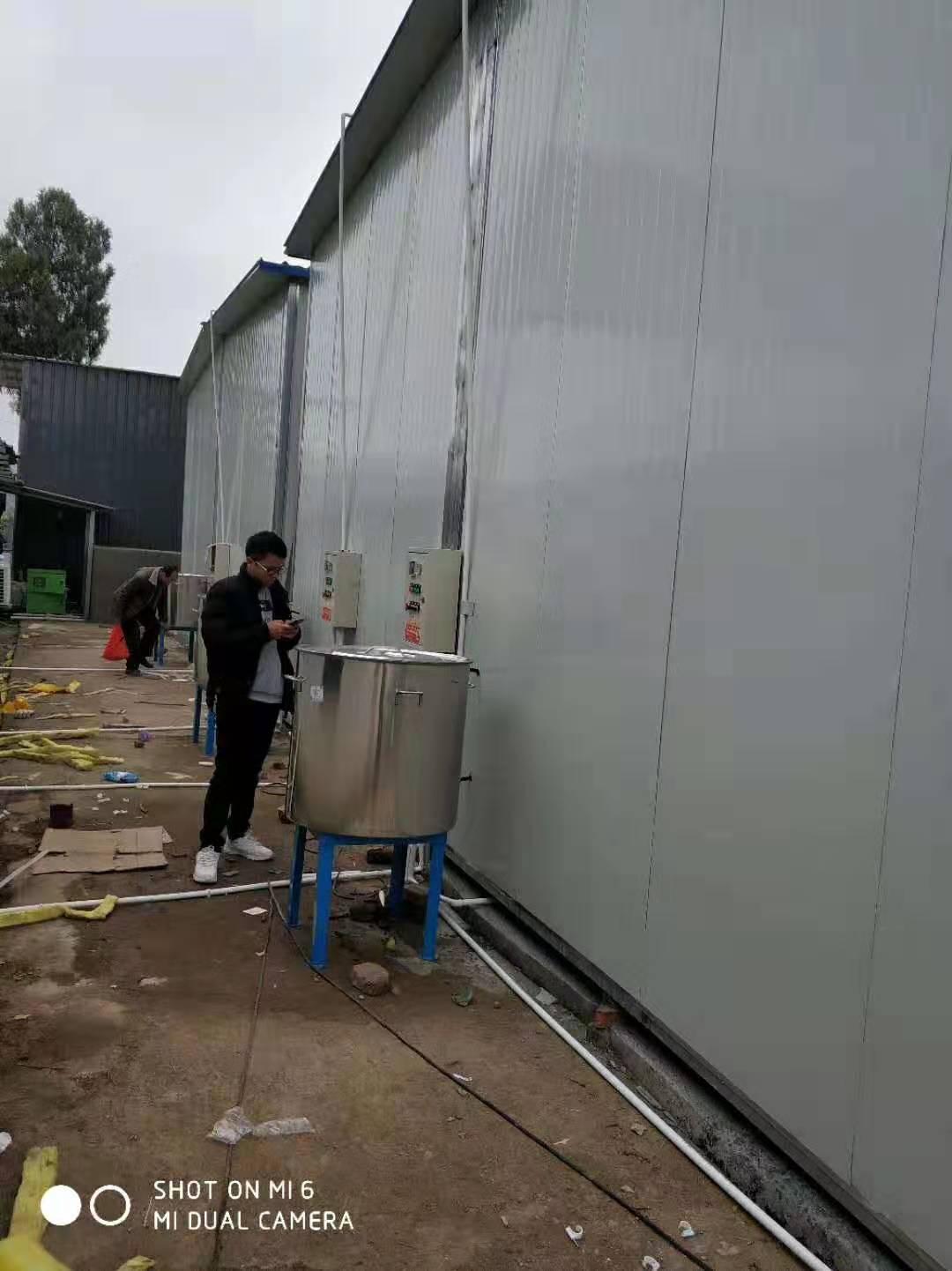 拉豬車烘幹滅菌房