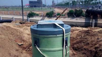 景观水取水泵站