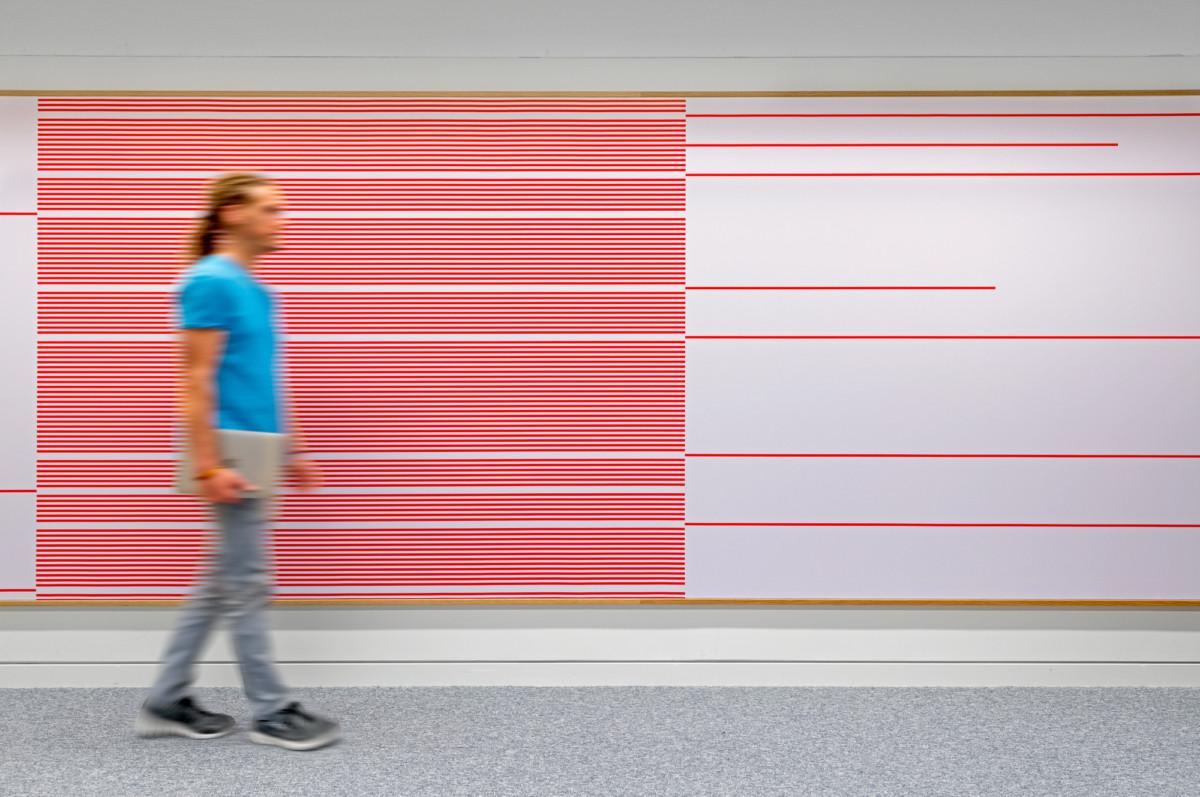 色彩墙设计