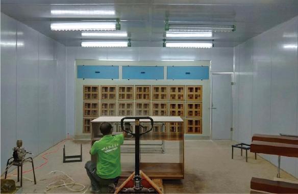 环保干式喷漆房