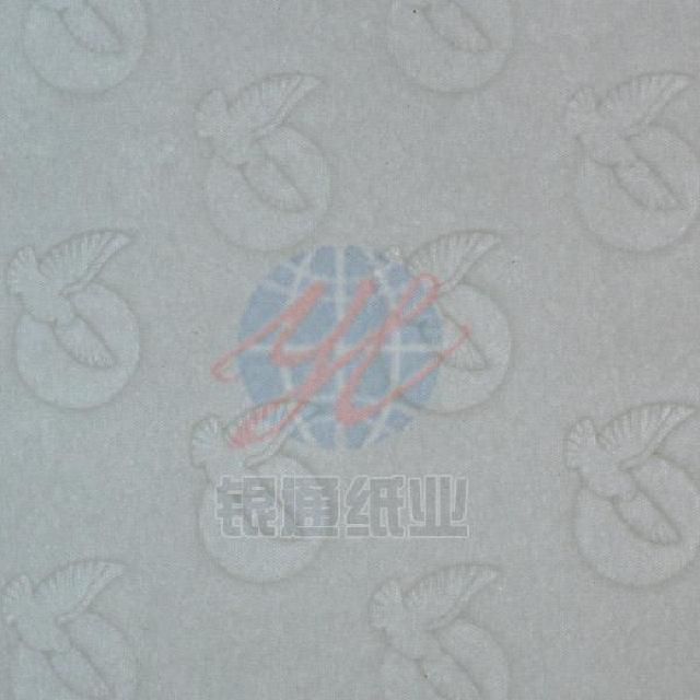 黑白水印滿版防偽紙