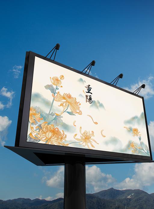 户外广告牌彩绘