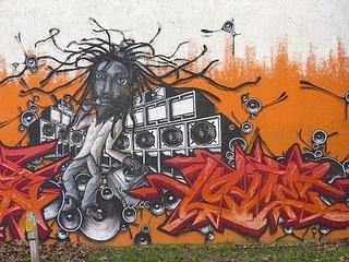 涂鸦墙绘案例