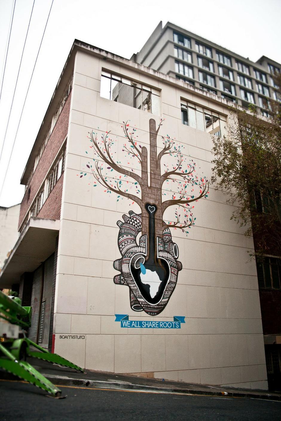 外墙墙体彩绘施工