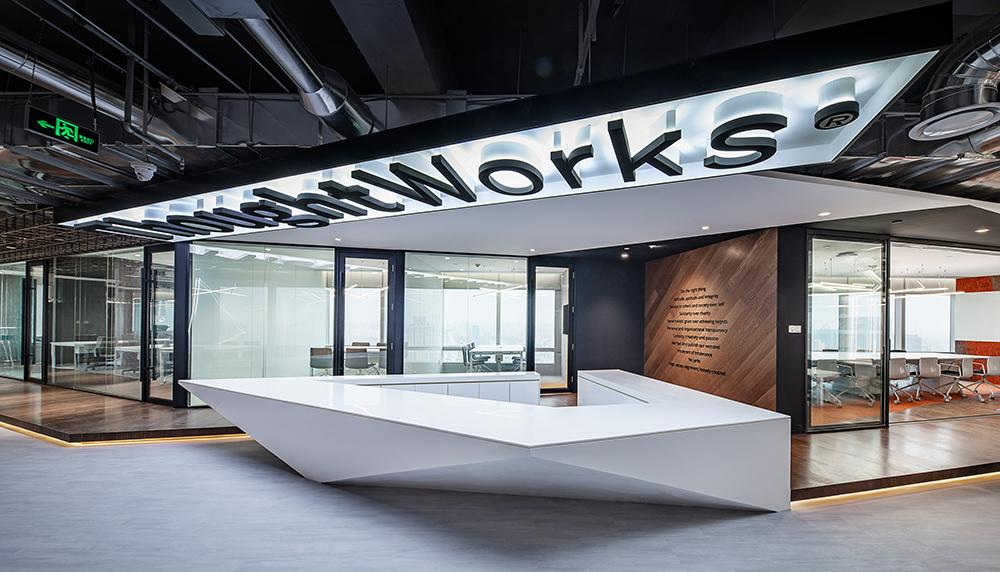 【现代简约】办公空间设计网