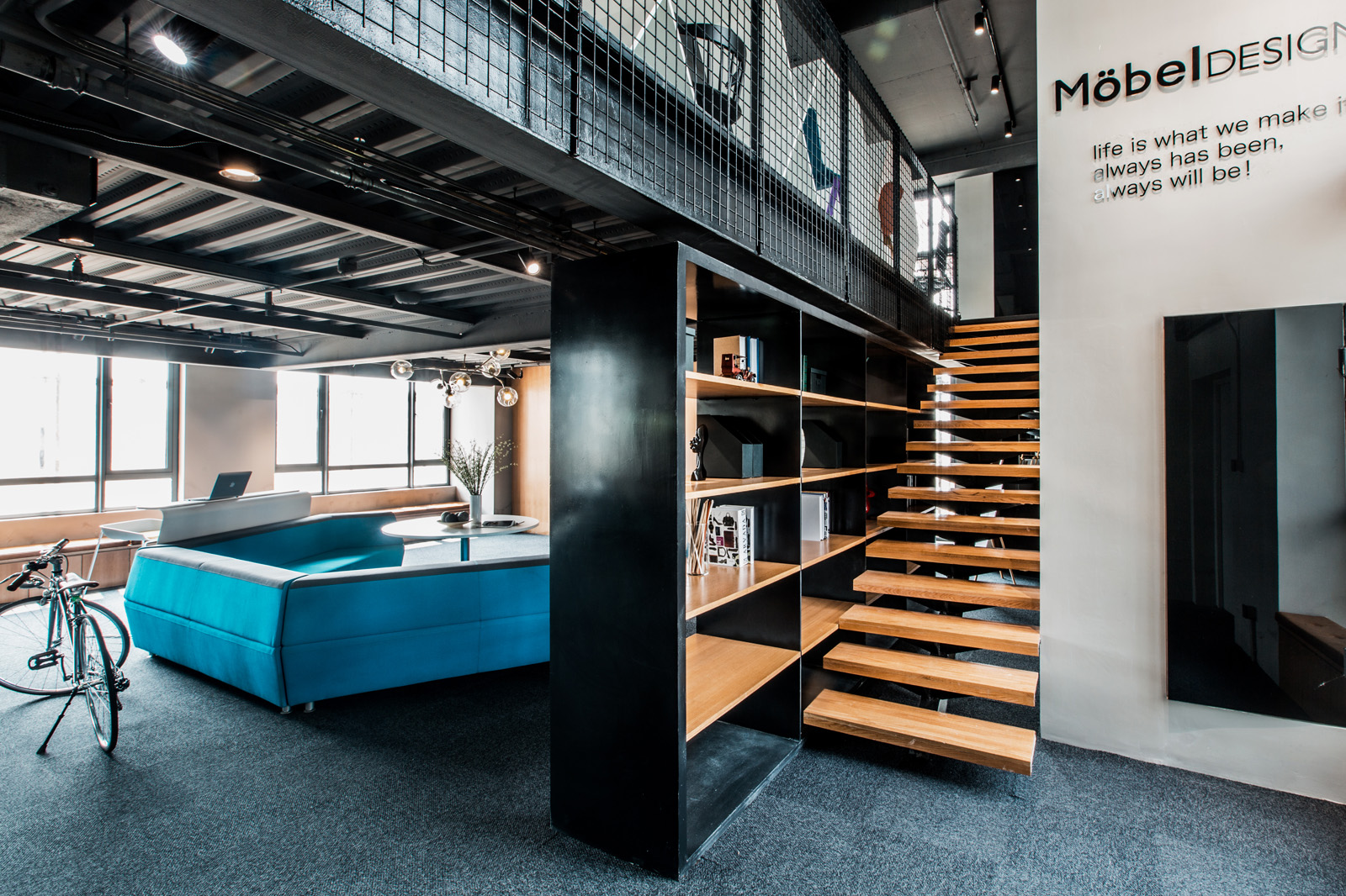 【工业风】loft办公空间设计