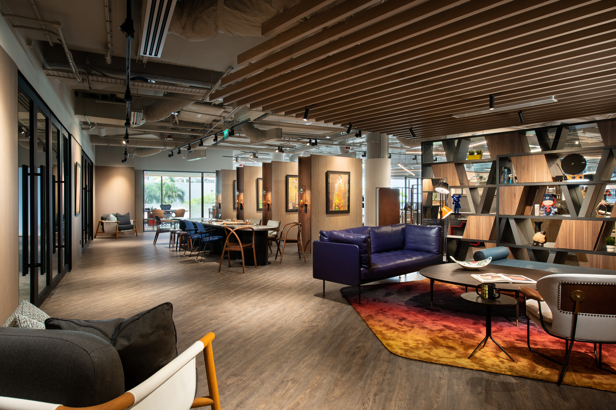 【灵动多元、酒店】办公空间设计