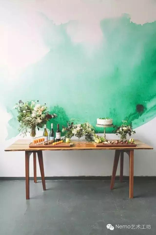 手绘墙给您一种不一样的美