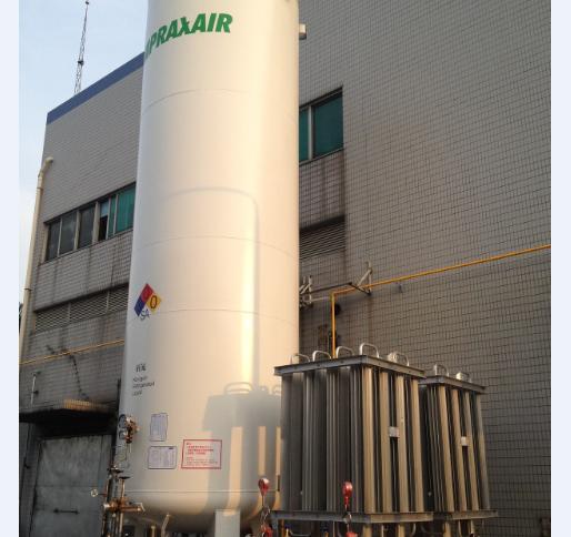 工業氣體儲罐安裝