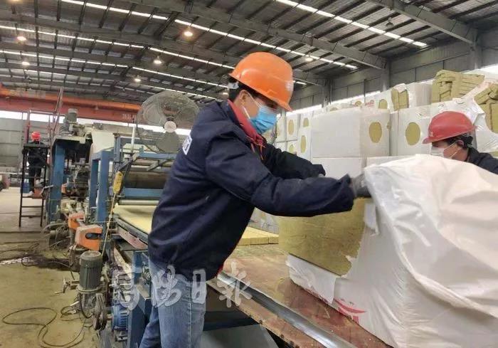 振森钢构生产现场
