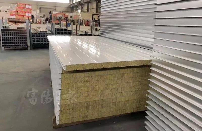 振森钢构复合板成品