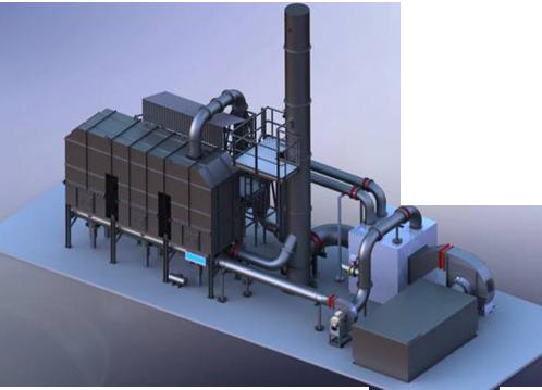 BM-RTO催化燃燒設備