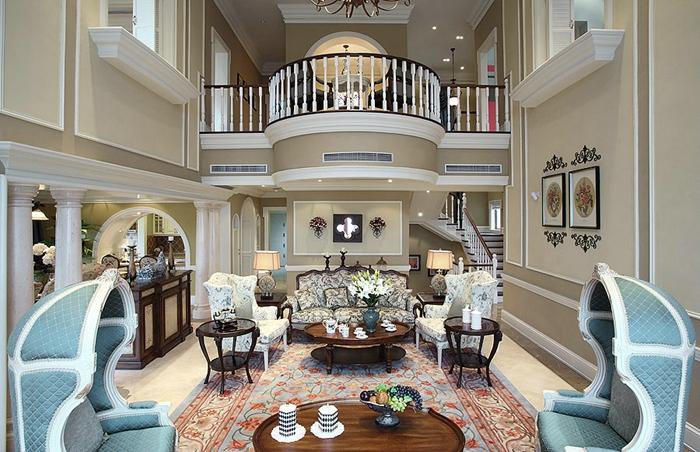 欧式风格-别墅设计-上海云之飞