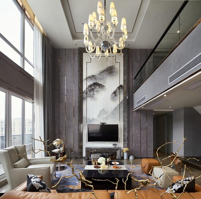 现代风格-别墅装修-上海云之飞