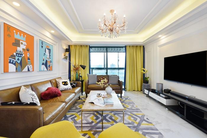 現代風格-家庭裝修-上海云之飛