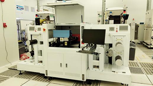卷对卷软性板激光打码机RTR