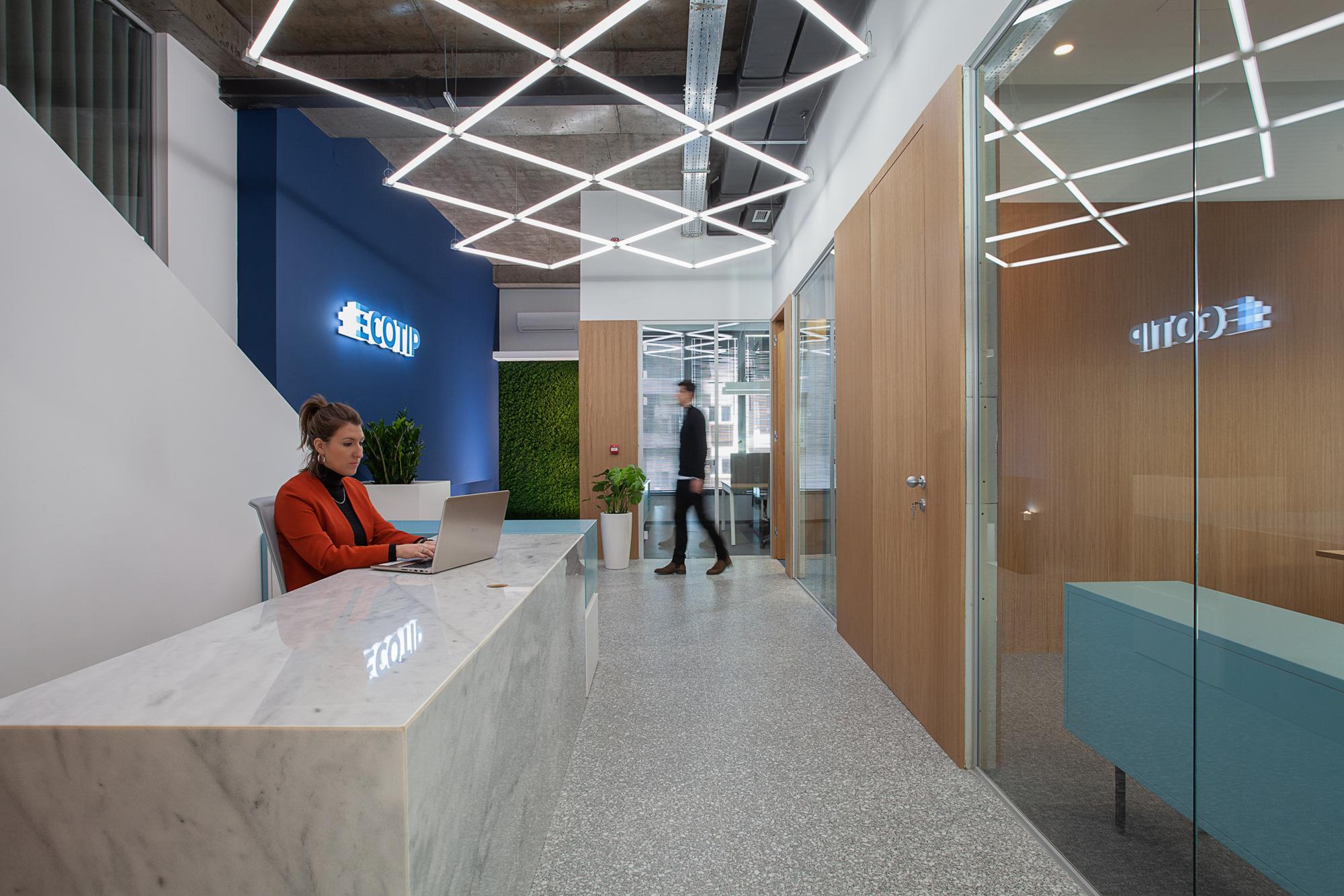 【现代简约】办公空间loft设计
