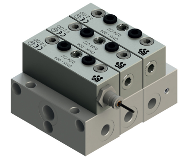 DMX modular distribution valve
