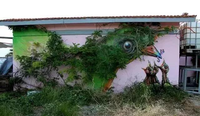3D立体画在墙绘中的应用