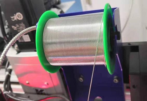自动送锡丝焊接机构