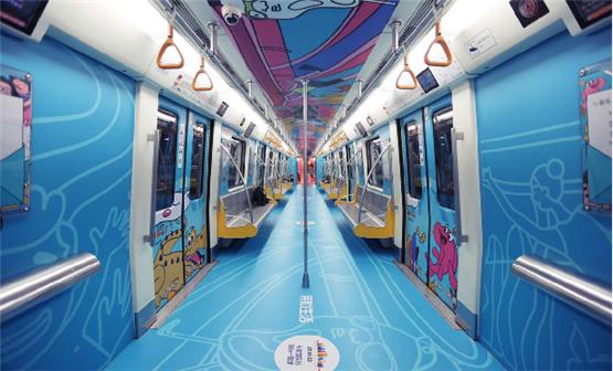 地鐵創意全景內包車