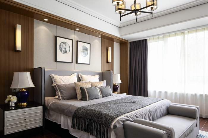 新中式风格-家庭装修-上海云之飞装饰