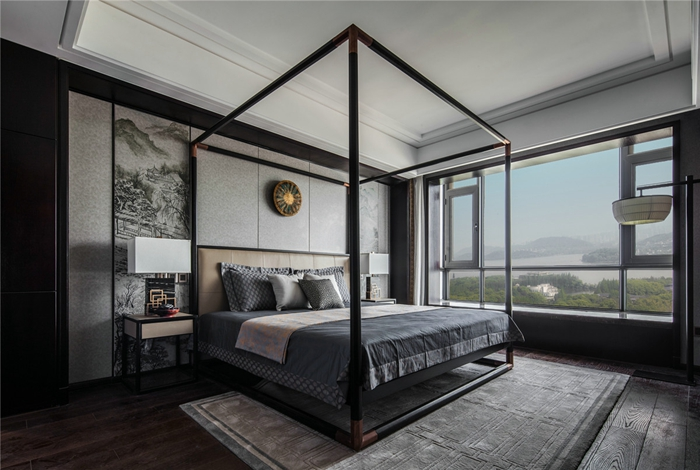 新中式風格-室內裝修-上海云之飛裝飾