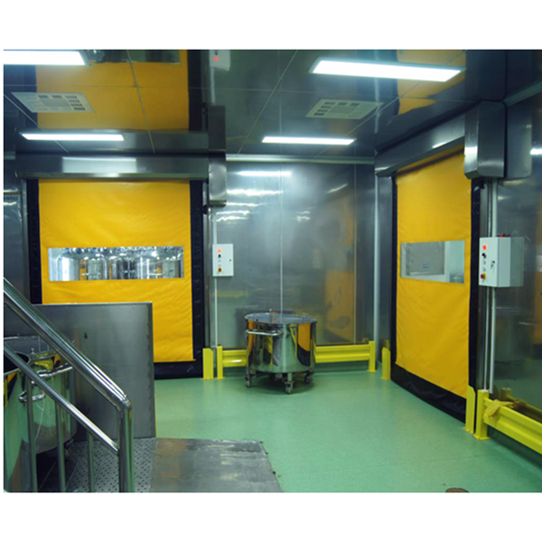 Zipper Hygienic Rapid Rolling Door