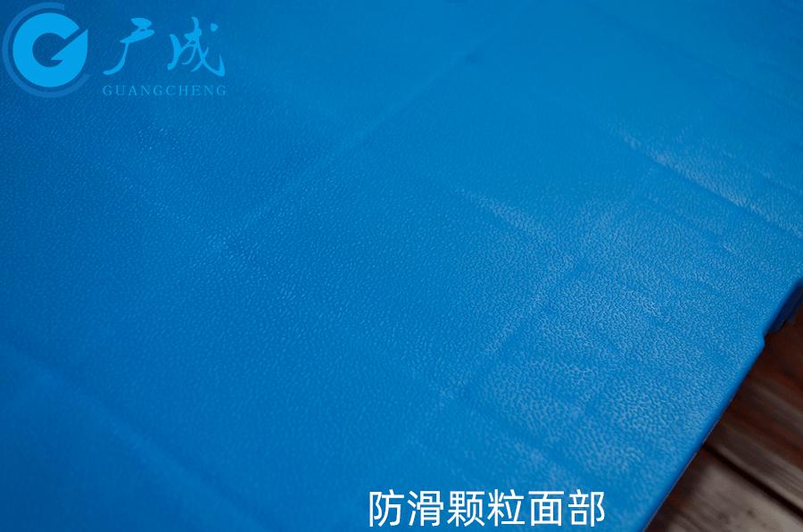 8060平板川字塑料托盤面部防滑顆粒細節