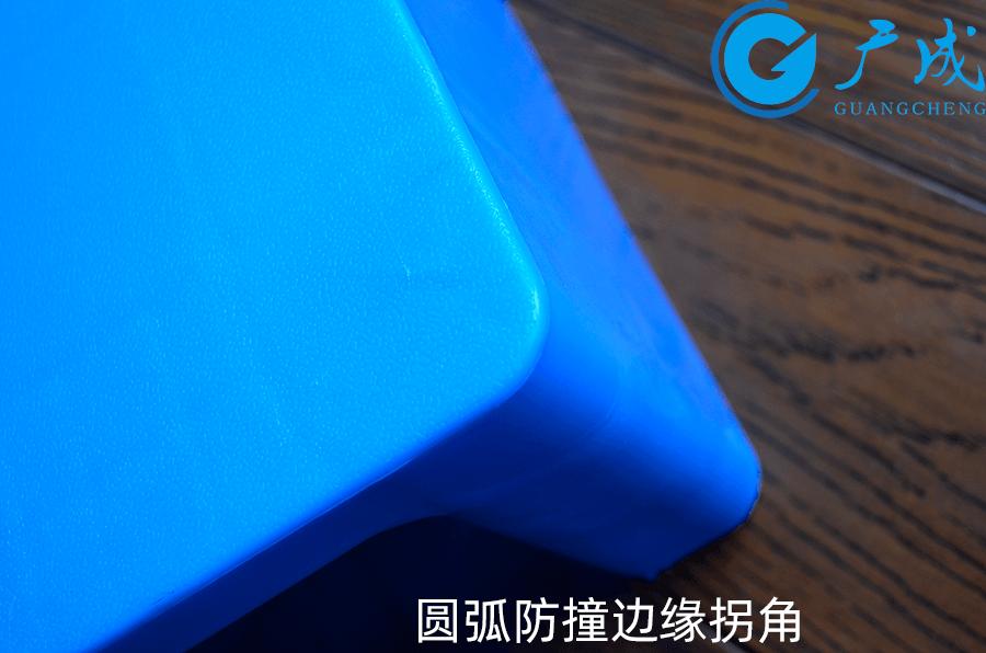 8060平板川字塑料托盤邊緣拐角