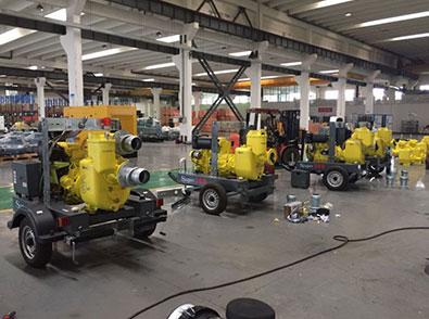 6寸污水拖车泵QX-ST-6