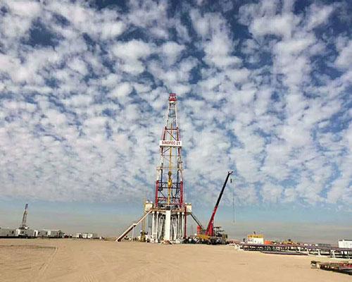 沙漠,海洋集装箱空调随中国石油配套中东