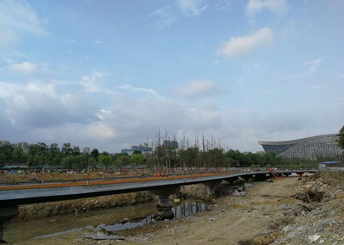 錦城湖防滲處理工程