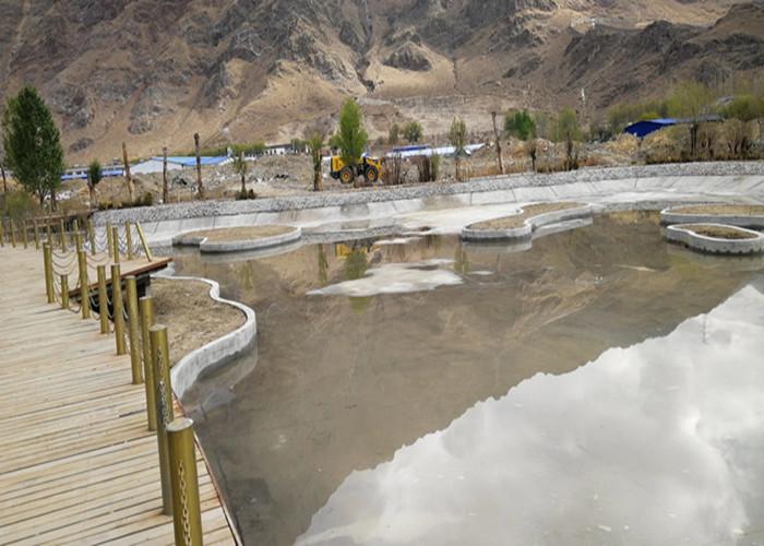 拉萨湿地公园人工湖防渗工程
