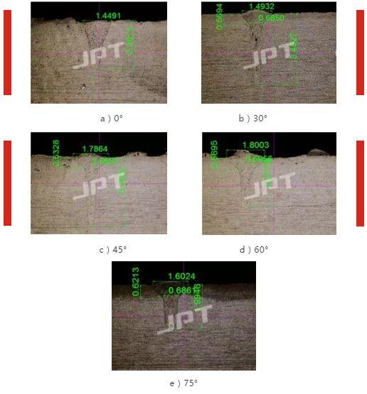 连续激光焊接机保护气对焊缝形状的影响