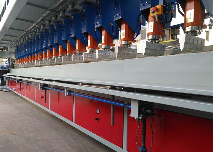 钢塑格栅设备介绍