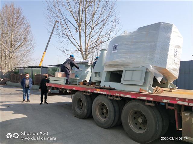 广东广益科技实业有限公司定制的EG500造粒机已装车发出