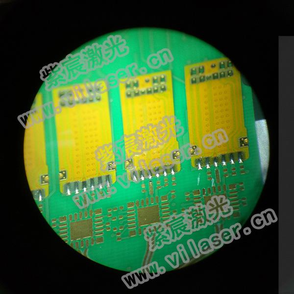 100G模块FPC与PCBA焊接效果