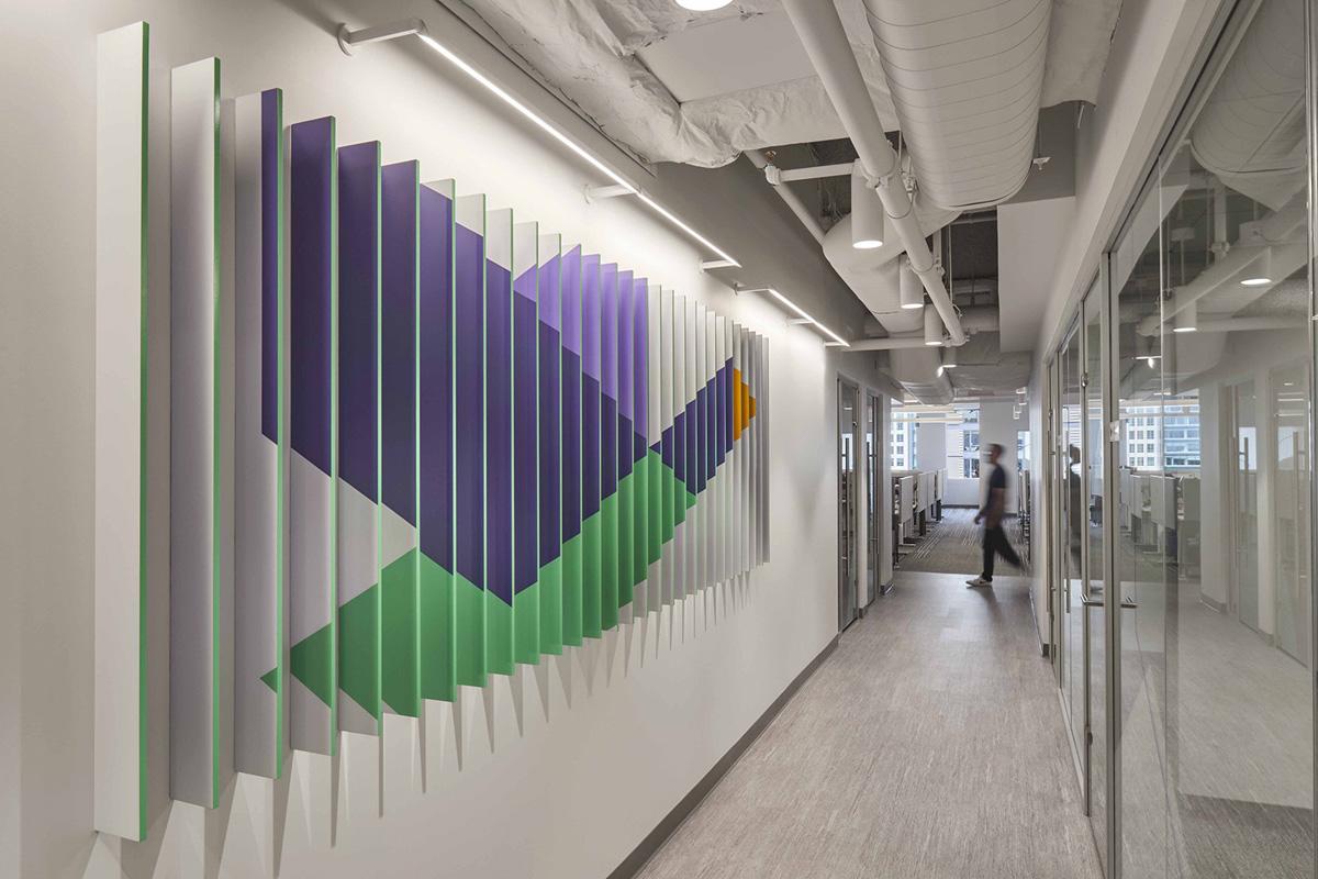 【工业风、App企业】办公空间设计