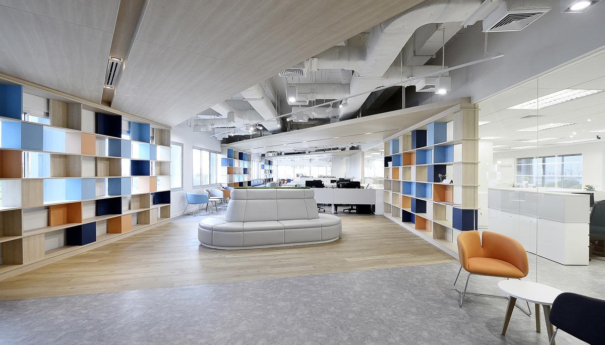 多元化办公空间设计