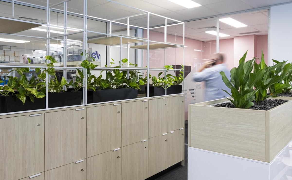 绿植柜设计