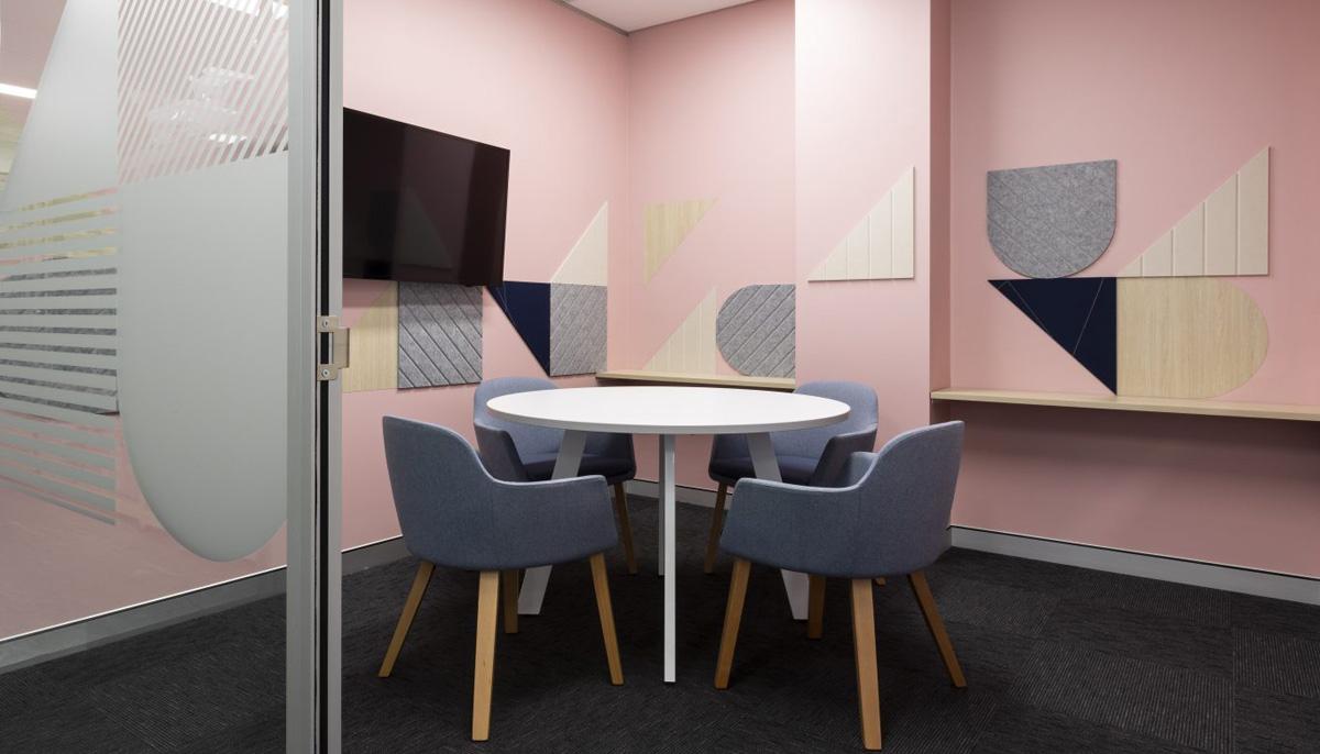生物企业会议室设计