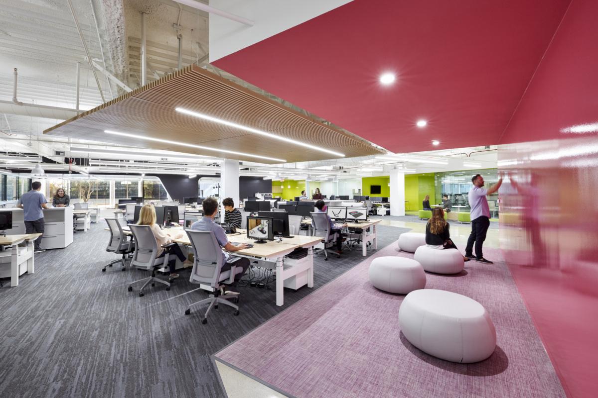 开放办公区设计