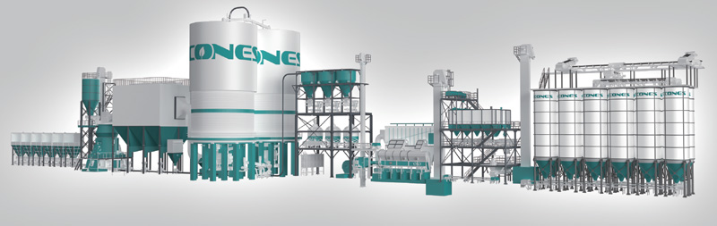 陶瓷砖瓦原料干法制备系统