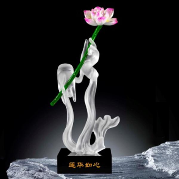 夏氏琉璃 莲花如心